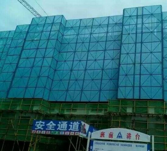 厂家专业定做建筑防护冲孔网片