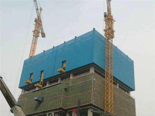 建筑爬架网工程案例