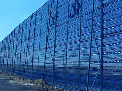 防风抑尘网厂家工程案例