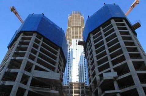 建筑爬架防护网图片展示