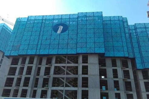 建筑爬架防护圆孔网