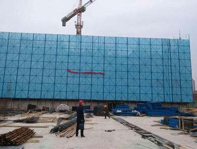 施工爬架安全防护网