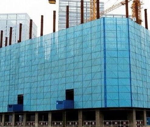 建筑爬架网的安装方法