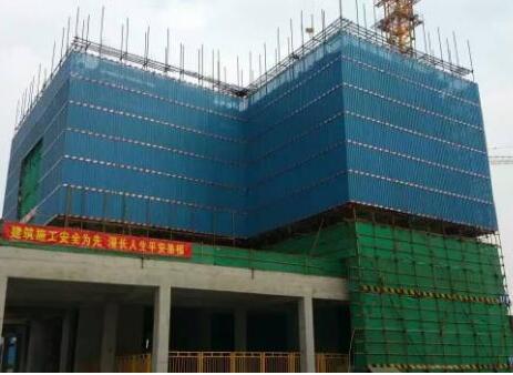 建筑爬架网安装施工方案
