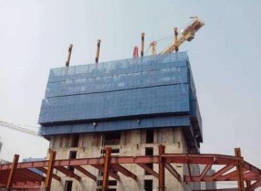 建筑爬架网怎么安装的