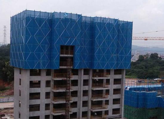 厂家直销高层建筑防护爬架网
