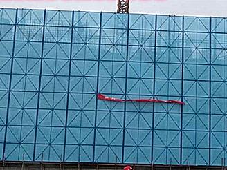 厂家定做楼层爬架网 爬架安全网优质现货