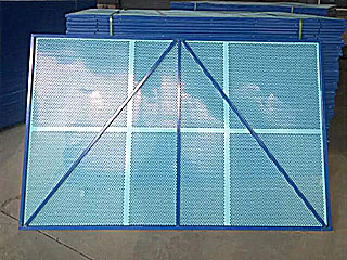 喷塑防锈建筑工地爬架网品质保证