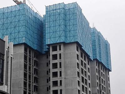 生产销售建筑安全网爬架网片